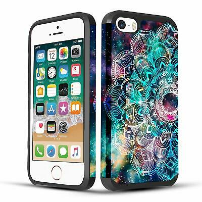 iPhone SE / iPhone 5 / iPhone 5S Case, Dual Layer Hybrid Case + Screen Protector