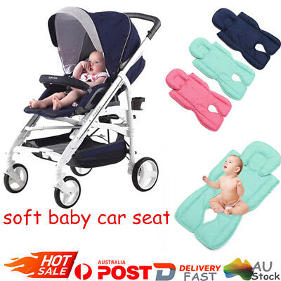 Newborn Baby Car Seat Stroller Pram Cushion Pad Liner Mat Body Support Pillow AU