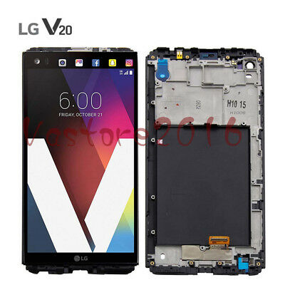 LCD Display Touch Screen Digitizer Frame Replacement For LG V20 H990 LS997 US996