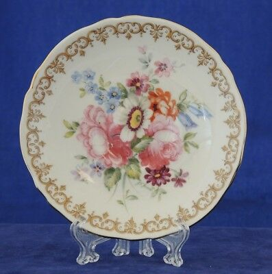 Crown Staffordshire England's Bouquet Coffee Saucer Only #10