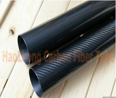 Factory Supply 13mm OD X 11mm ID X 1000MM Roll Wrapped Carbon Fiber Tube 3K US-1