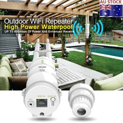 Outdoor Waterproof Wavlink AC600 WIFI Signal Extender Booster Wireless Repeater