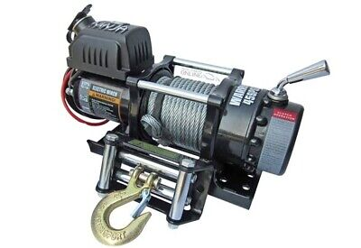 Warrior 4500 12V NINJA Winch WITH STEEL ROPE - 45SPS12