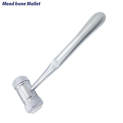 Mead Bone Mallet Hammer Dental Implants Surgery Sinus Lift Bone Grafting Tools