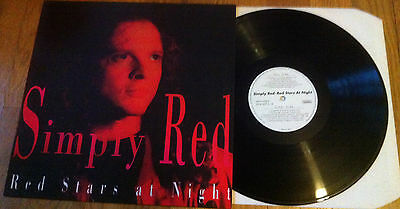 Simply Red Red Stars at Night Vinyl Virus VVLP 007