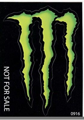 Monster Energy Drink Small Claw Stickers