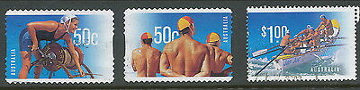 Australian Stamps: 2007 Year of the Lifesaver - Set of  2 P&S and 1 Sheet - Used