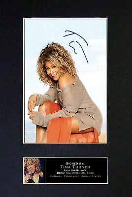 Tina Turner - Signed Autographed / Photograph + FREE WORLDWIDE SHIPPING
