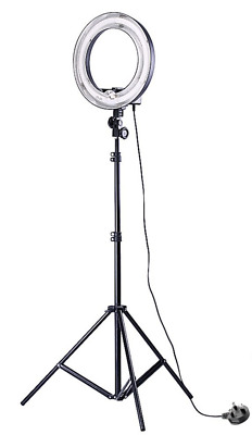 Ring Light Studio 5500K 34cm Photo Video Fluorescent Tube With 90CM Stand