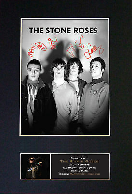 The Stone Roses - Signed Autographed / Photograph + FREE WORLDWIDE SHIPPING