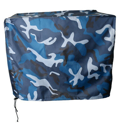 Waterproof Vented Outboard Motor Boat Cover Ocean Camo for 2-300 HP Engines