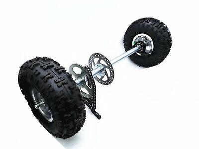 700mm Drift Trike Go Kart Quad Buggy Trolly Project Mini Axle Off Road Wheel Kit