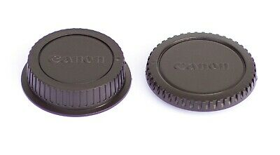 Body + Rear Lens Cap Cover for Canon EOS SLR DSLR cameras and EF EF-S Lenses