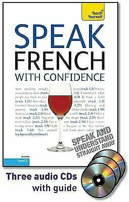 Speak French with Confidence: Teach Yourself by Arragon, Jean-Claude CD-Audio