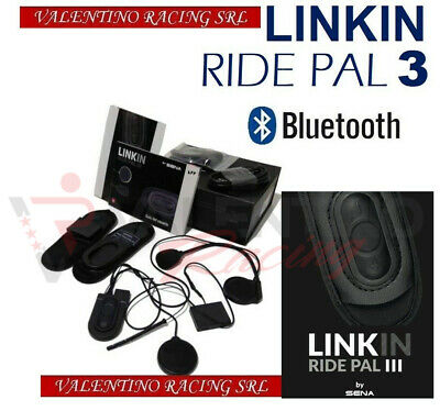 Interfono Bluetooth Linkin Ride Pal 3 Sena Ls2 Ff324 Metro Ff397 Ff399 Vailant