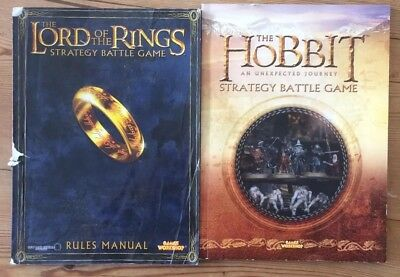 warhammer rulebook Lord Of The Rings And Hobbit