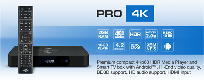Dune HD Pro 4K - UHD 4Kp60 HDR Mediaplayer und Android 7.0 Smart TV Box