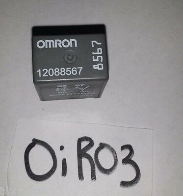 2 NEW OEM GM 12088567 Relay OMRON - $10.99   PicClick Omron Relay Wiring on