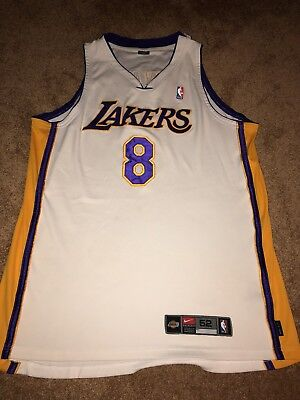 NIKE LAKERS KOBE Bryant Authentic Yellow Road Jersey Size X-Large ... 839d6076d