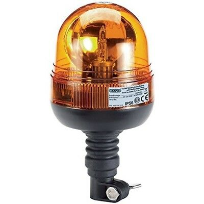 12/24v Spig.flex.rot.beacon - Flexible Spigot Rotating Beacon Draper Base 1224v