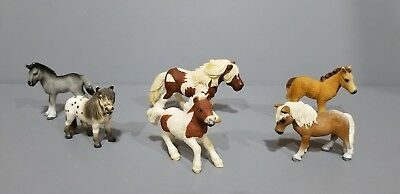 Schleich lot of 6 Pony Horses in Excellent Condition RARE!