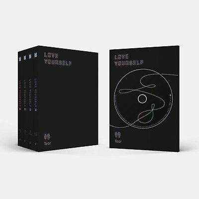 BTS 3rd Album [LOVE YOURSELF 轉'Tear'] Random Ver. CD+P.Book+M.Book+Photocard