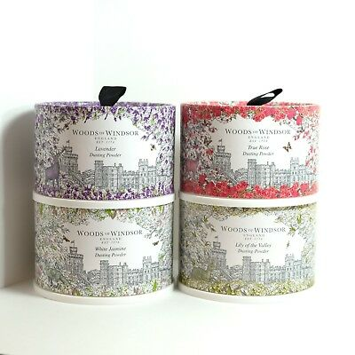 Woods of Windsor Body Dusting Powder with Puff - 3.5oz. - Pick Your Scent!