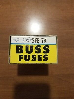 Buss Fuses SFE 7 1/2 100 Count