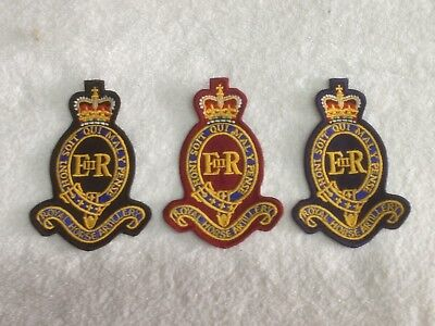 Royal Horse Artillery - Embroidered Patch / Badge - Sew On Breast Biker Patch