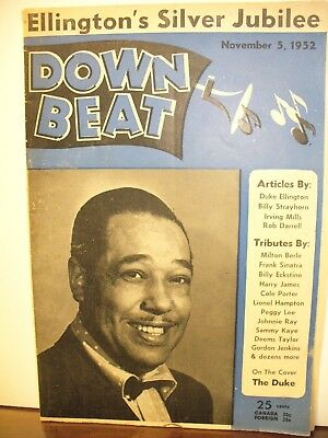 DownBeat magazine Noveber 5, 1952 Duke Ellington
