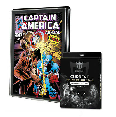 2 Max Current /Modern Comic Book Showcases #CBS-CUR Wall Mountable Display Frame
