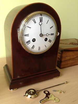 French antique clock Japy Freres ( Grd Med D'Honneur 1867 )