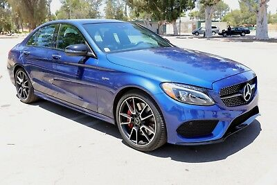 2017 Mercedes-Benz C-Class C43 AMG SEDAN ONLY 16,184 MILES