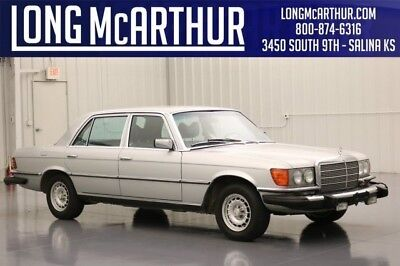 Mercedes-Benz S-Class 450SEL S CLASS 6.9 LOOKS 4.5 V8 PRICE 65K MILE LEATHER LEATHER MOONROOF LOW MILE GREAT PRICE SUPER CLEAN CAR