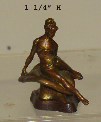 Bronze Lady Sculpture by Adotta