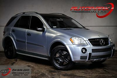 2007 Mercedes-Benz M-Class ML 63 AMG AMG, LOW miles, Clean Carfax, WE Finance! NEW Tires!
