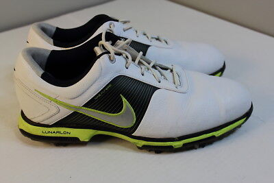 low priced be504 b9eeb Nike Lunarlon Flywire Golf Shoes 418471-106 Men Size 10