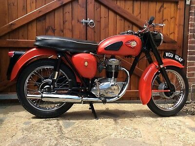 BSA C15 G motorcycle