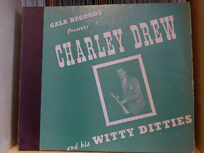 COMEDY - Charley Drew and his Witty Ditties - Album 2 Platten - Gala Records USA