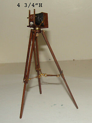 Vintage Camera on Tripod by Nantasy Fantasy