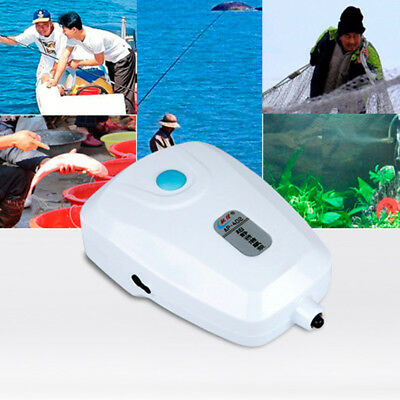 1pcs AC/DC Dual-use Oxygen Pump Aquarium Air Pump Fish Tank Increasing Air Pump