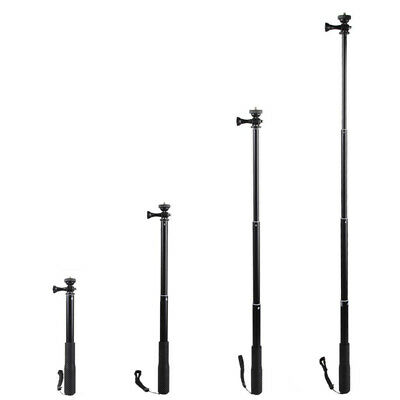 Telescopic Waterproof Selfie Stick Pole Monopod Tripod Handheld for GoPro