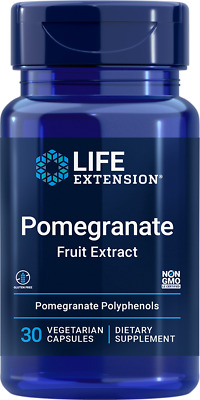 Life Extension Pomegranate Fruit Extract | 30 vegetarian capsules
