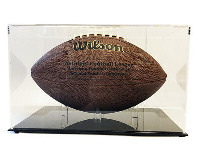 Ultra Max High Clarity Pro Deluxe Premium Football Display Case - Max UV