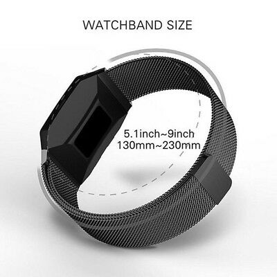 Metal Milanese Magnetic Loop Strap Stainless Steel Wrist Band for Fitbit Ionic
