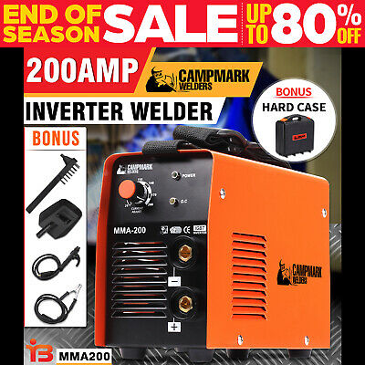NEW ROSSMARK Welder Inverter ARC 200Amp Welding Machine DC iGBT St