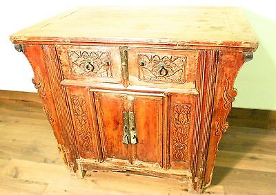 "Antique Chinese ""Butterfly"" Coffer (5709), Circa 1800-1849"