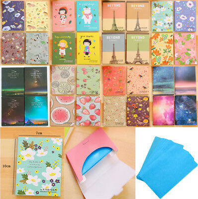 50 Sheets Make Up Oil Absorbing Blotting Facial Face Clean Paper Beauty 10*7cm