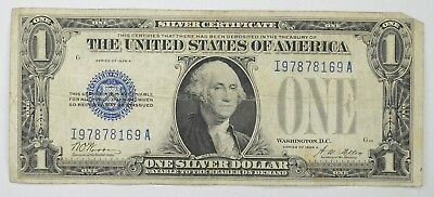 1928 $1.00 Funny Back - Silver Certificate - Monopoly Money - Collectible *129