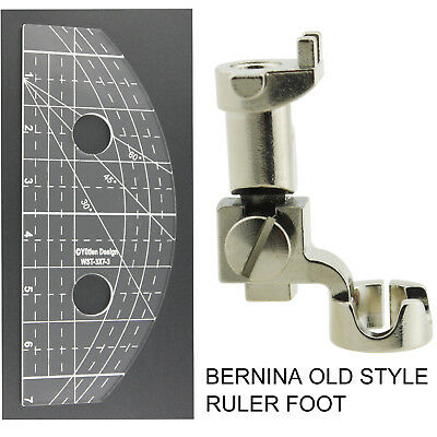 """1//4/"""" Ruler Foot for Bernina Free Motion Quilting Old Style 500-1630"""
